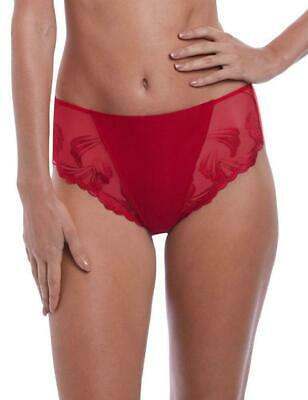 Fantasie Anoushka High Waist Brief 3218 Womens Knickers New Lingerie Red