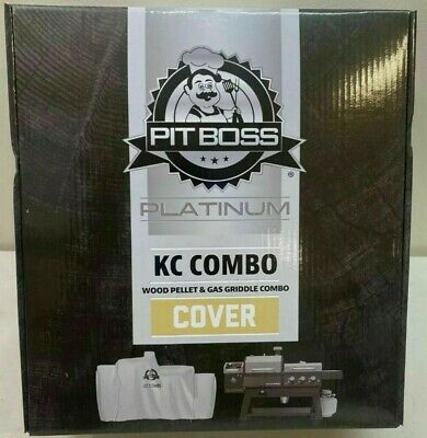 Wood Pellet//Gas Griddle 73301 Pit Boss Platinum KC Combo Grill Cover