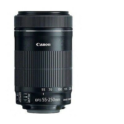 Canon EF-S 55-250mm F4-5.6 IS STM Lens 8546B002 for Select Canon SLR Cameras