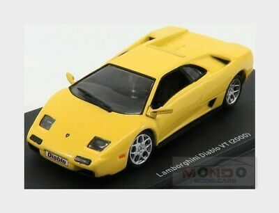 Lamborghini Diablo Roadster 2000 Yellow LAM010 ALTAYA 1:43 New!