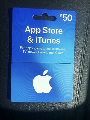 BRAND NEW APPLE App Store & iTunes $100 Gift Card for Apps ...