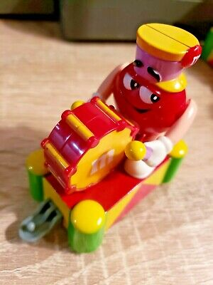 Mars Red M/&M Marching Band Train Collectible Drummer Toy