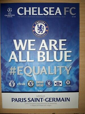 2014//15 CHELSEA v PSG CHAMPIONS LEAGUE - 11th March 2015