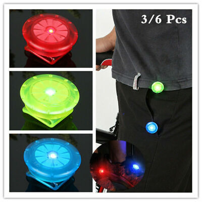 LED Lichter SetFitness Laufen Outdoor SportMit Clips MOLLE Rot Weiss
