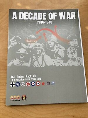 ASL Action Pack #6 A Decade of War 1936-1945    MMP  shrinkwrapped  OOP