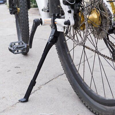Pletscher Twin Leg B//B Mounted Cycle Bike Standard Kickstand Silver 290 MM
