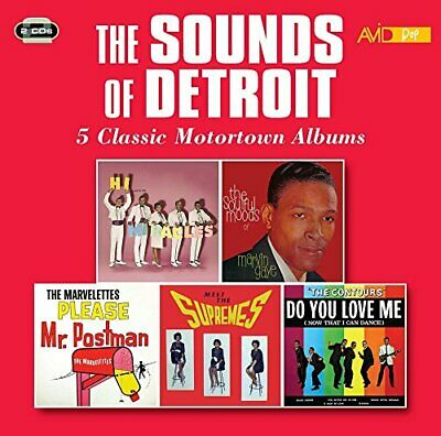 The Sounds Of Detroit: 5 Classic Motortown Albums - Various CD M2VG