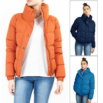 ladies jacket Brave Soul womens coat padded quilted puffer bubble bomber winter