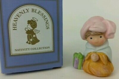 Vintage 1980/'s AVON HEAVENLY BLESSINGS NATIVITY COLLECTION w// BOXES Mint