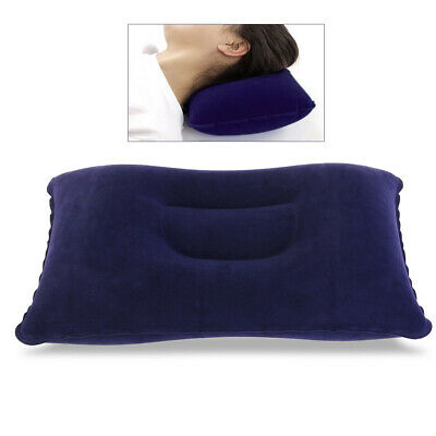 Ultralight Inflatable Air Pillow Cushion Portable Travel Hiking Camping Rest