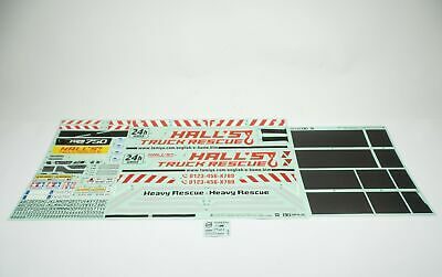 Tamiya Volvo FH16 Tow Truck 8x4 Truck 19495998 Decals Decal Sheet TVF®