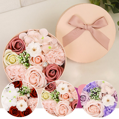 Mother/'s Day Anniversay New Year Gift 11Pcs Carnation Soap Bouquet W// Gift Box