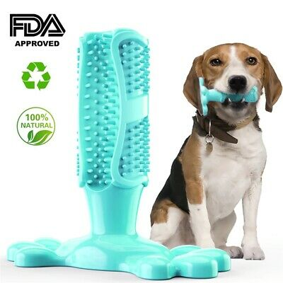 Dog Chew Toys Dog Rubber Toothbrush Teeth Cleaning Toy  Pet Stick Puppy Popular