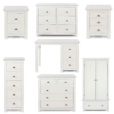 Solid Wood Bedroom Furniture White, White Solid Wood Bedroom Furniture Uk