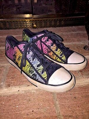 DISNEY WIZARDS OF WAVERLY PLACE BLACK GIRLS SNEAKERS