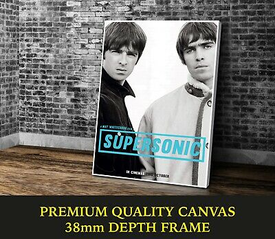 Oasis Supersonic Music Band Large CANVAS A0 A1 A2 A3 A4 Sizes