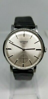 Vintage Watch Longines Cal. 30L Ref. 8903-1 Manual Winding 60's Stainless Steel
