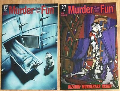 Murder Can Be Fun #1 VF 1996 Stock Image