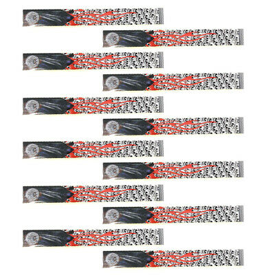 24 Pieces Hunting Targeting Arrow Adhesive Stickers Wraps 270 x 30mm