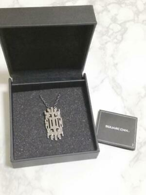 Final Fantasy 13 XIII l'Cie Lightning Official Pendant Necklace Silver 925 FF13
