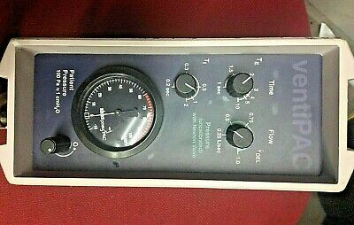 Smith Pneupac Ventipac 51 Ventilator with accessories hospital GP surgery use