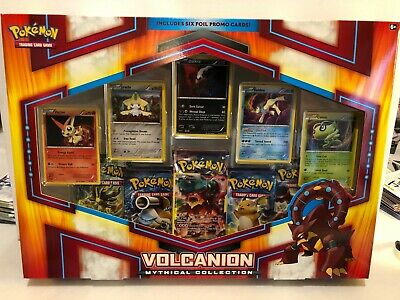 Pokemon Volcanion Mythical Collection Box Factory Sealed
