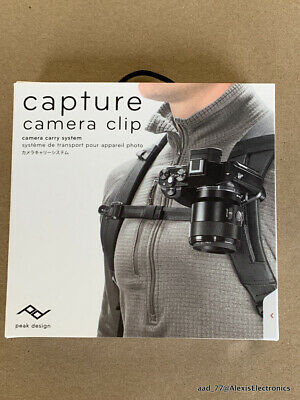 New Capture Camera Clip Camera Carry System By Peak Design Fast Free Shipping