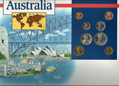 Coins of the World Australia 1973-1994 BU $2 1990 $1 1994 5 cents 1977 1 cent 73