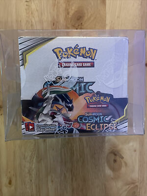 MINT - Pokemon TCG Sun and Moon Cosmic Eclipse Booster Box - Factory Sealed!