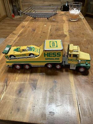 Hess Gasoline 1988 Racing Car Transport With Race Car Used WOW
