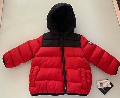 NWT Ben Sherman Toddler Boys Puffer Jacket Red Size 18 M