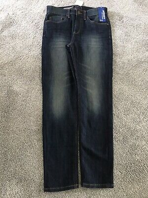 Brand New With Tags - Boys NEXT Skinny Stretch Blue Denim Jeans Age 14 Years