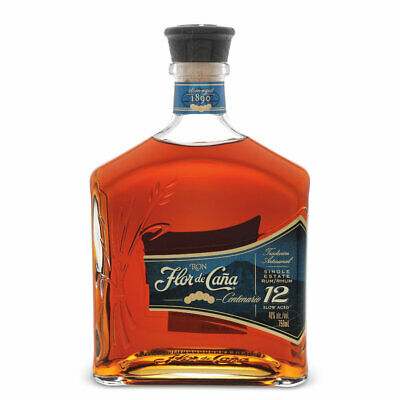 Single Estate Rum Centenario 12 Years Old - 100cl/1L - Flor de Cana