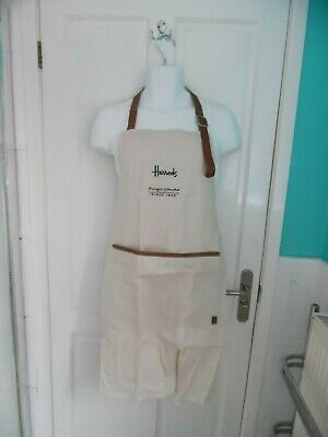 Harrods Linen Harrods Food Halls Cooking Apron - New With Tags