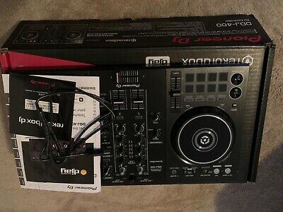 Pioneer  DDJ-400 2 Channel Rekordbox DJ Controller - Black