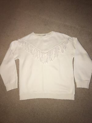 Zara Girls Beige Sweatshirt Age 11-12 Years