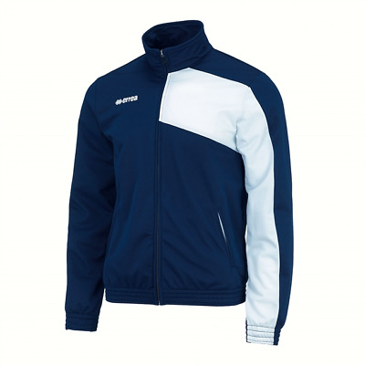 Errea Junior Milton/Clayton Tracksuit Top XS Navy.