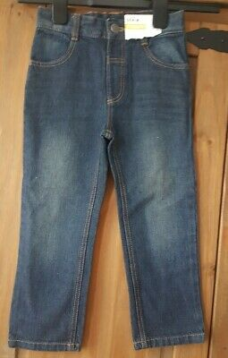 Boys Straight Leg Jeans Age 3-4 Years George