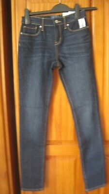 Nwt  Girls  Old Navy  (Gap)  Skinny  Blue  Jeans  With  Adjusters  Age 14 Years