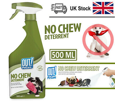 Pet No Chew Deterrent Spray Dog Puppy Stop Biting Chewing Licking 500m FAST&FREE