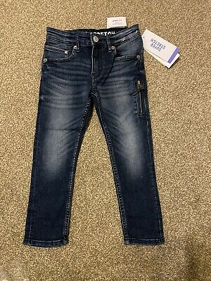 H&M Boys Super Stretch Skinny Fit Blue Jeans 3-4 Years EUR 104