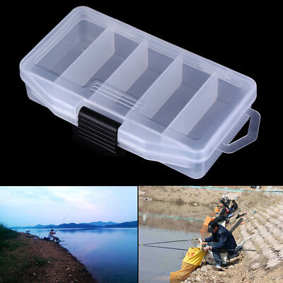 Fishing Box Multifunctional High Strength Plastic Fish Lure Bait Hooks Tackle~fi