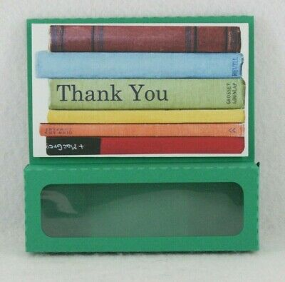 Handmade gift box Card  Thank you  any occasion window 4