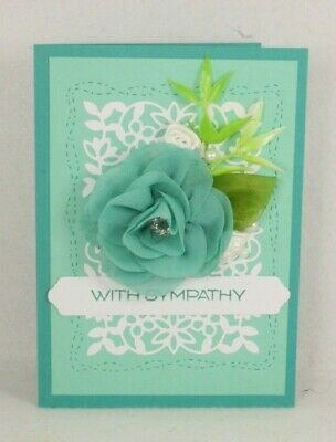 Handmade OOAK card  3 Any occasion birthday thank you Thinking of You Sympathy