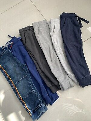 6 Pairs Of Boys Next Joggers And Jeans Age 2-3