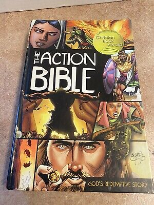 The Action Bible: God's Redemptive Story Hardcover David C. Cook Hardcover
