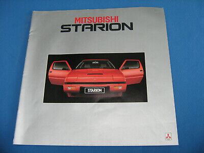 brochure 1982 MITSUBISHI STARION !!! ____________ french text __________________