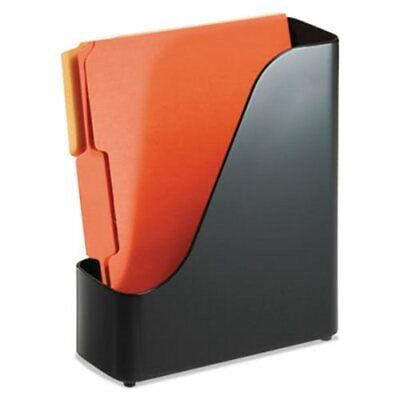 Officemate 2200 Series Magazine File, 4 x 9 1/2 x 11 1/2, Black (OIC22352)