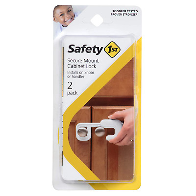 Safety 1st Secure Mount Cabinet Lock, 2 Count