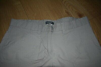 La redoute girl tan beige light brown ex condition shorts age 12-13 years